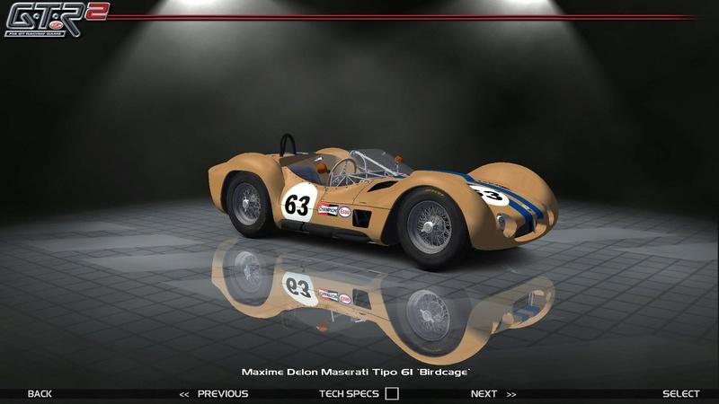 Maserati Tipo 60-61 ''Birdcage'' 354