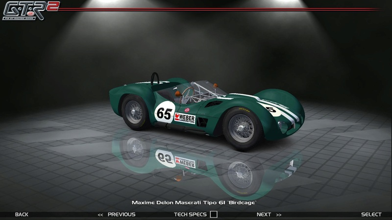 Maserati Tipo 60-61 ''Birdcage'' 551