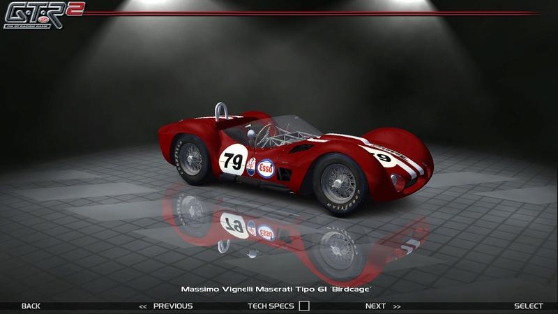 Maserati Tipo 60-61 ''Birdcage'' 644