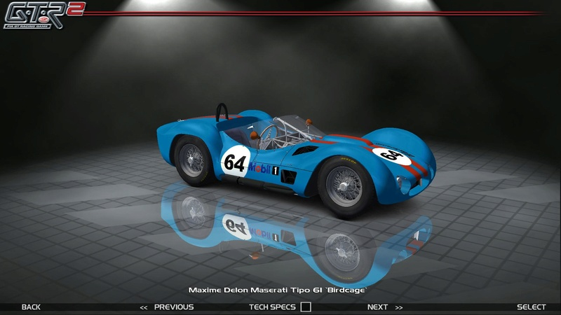 Maserati Tipo 60-61 ''Birdcage'' 732