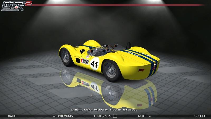 Maserati Tipo 60-61 ''Birdcage'' 827