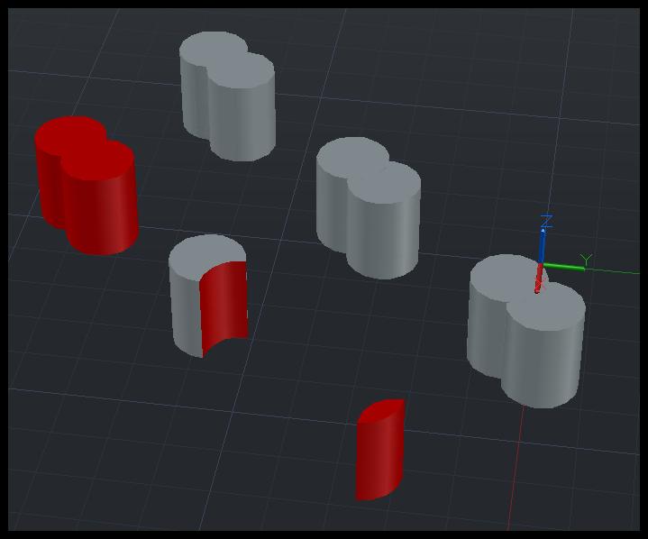 [教學影音]AutoCAD 3D基礎 布林運算 033010