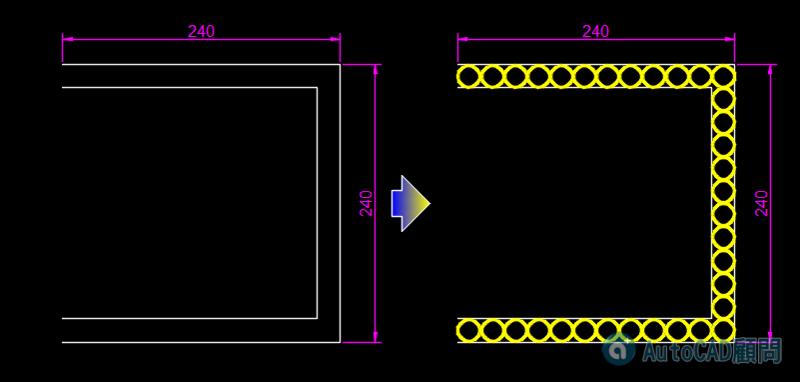 AutoCAD教學 基礎指令測驗題1 044310