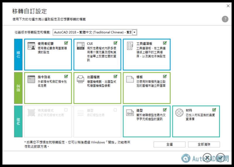 AutoCAD 2019 繁體中文版-安裝/啟用說明 0913