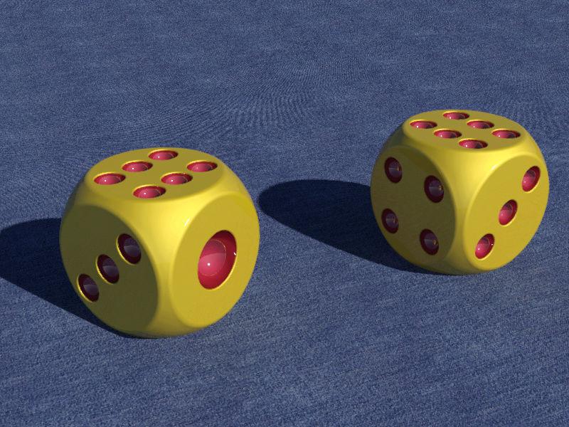 AutoCAD 3D骰子-進階版 315410