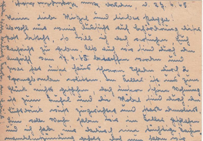 Schrift unleserlich - was steht da? B310
