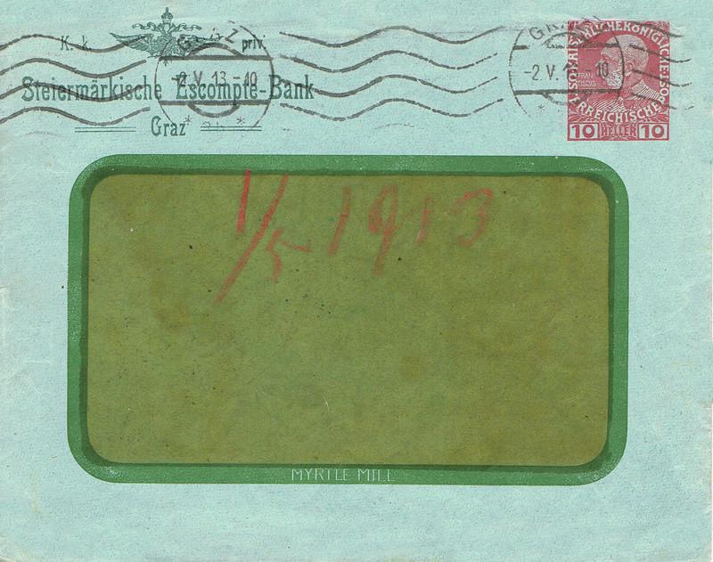 Briefe / Poststücke österreichischer Banken - Seite 4 Ban10
