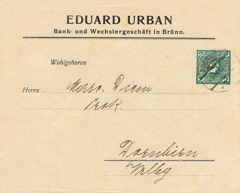 Briefe / Poststücke österreichischer Banken - Seite 4 Bk10