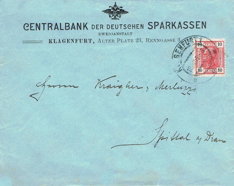 Briefe / Poststücke österreichischer Banken - Seite 4 Cb11