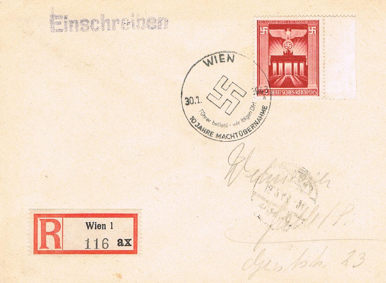 Österreich im III. Reich (Ostmark) Belege - Seite 13 Dr17