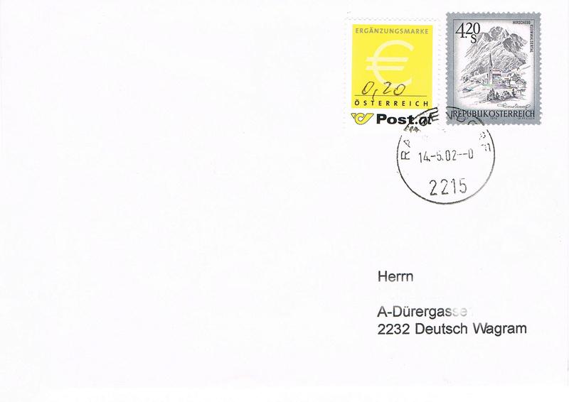 Österreich - Ergänzungsmarke  - Seite 2 Er10