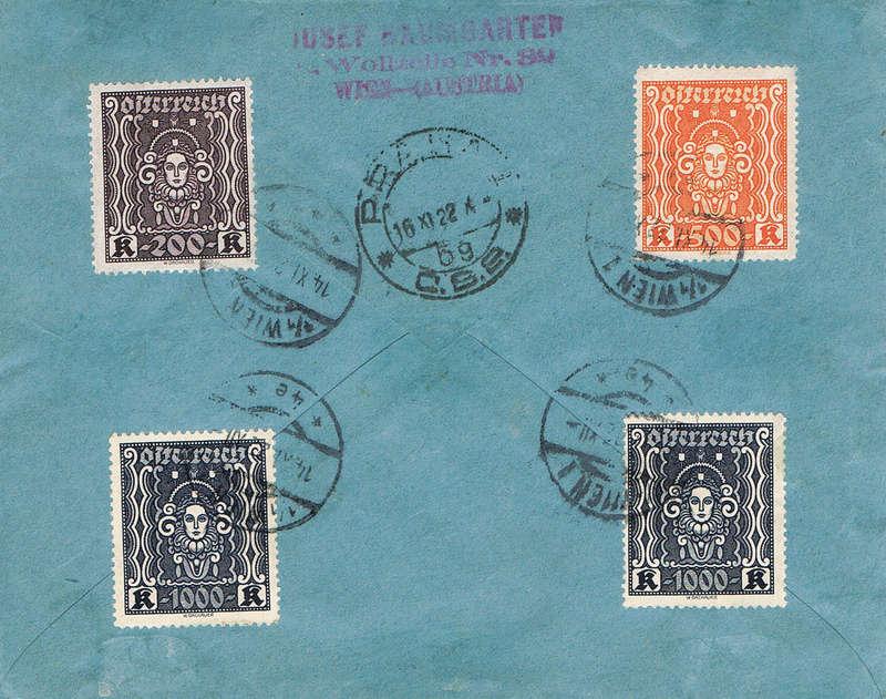 Inflation in Österreich - Belege - 1918 bis 1925 - Seite 14 Flr10