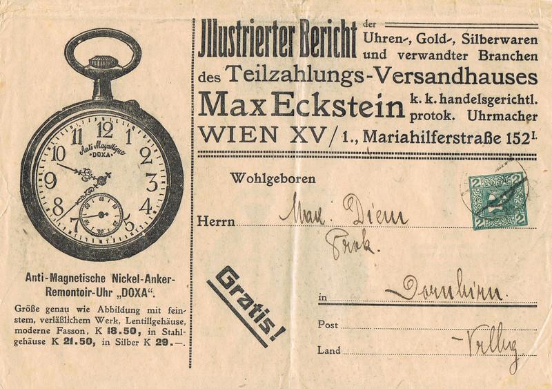Werbeumschläge und -karten aus Österreich - Seite 5 Gz10