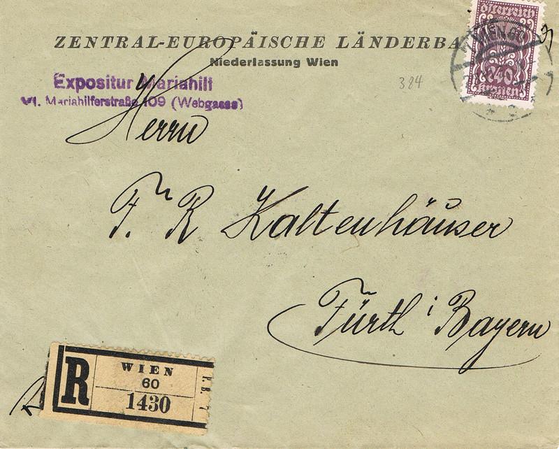 Inflation in Österreich - Belege - 1918 bis 1925 - Seite 14 I110