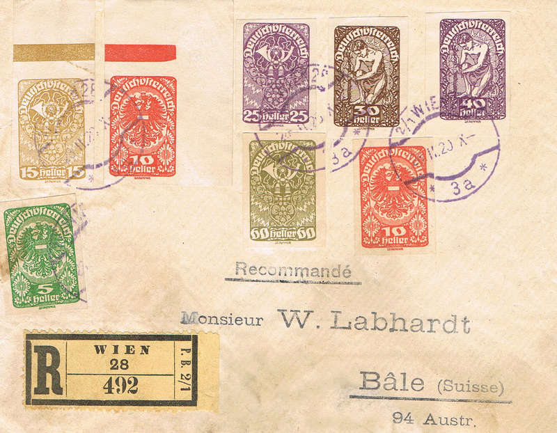 Inflation in Österreich - Belege - 1918 bis 1925 - Seite 15 If15