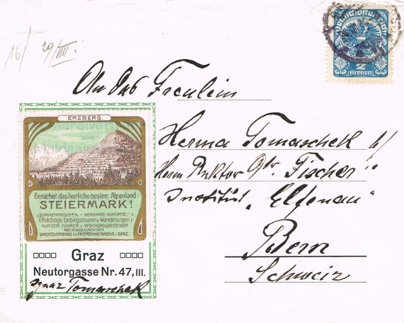 Inflation in Österreich - Belege - 1918 bis 1925 - Seite 15 If16