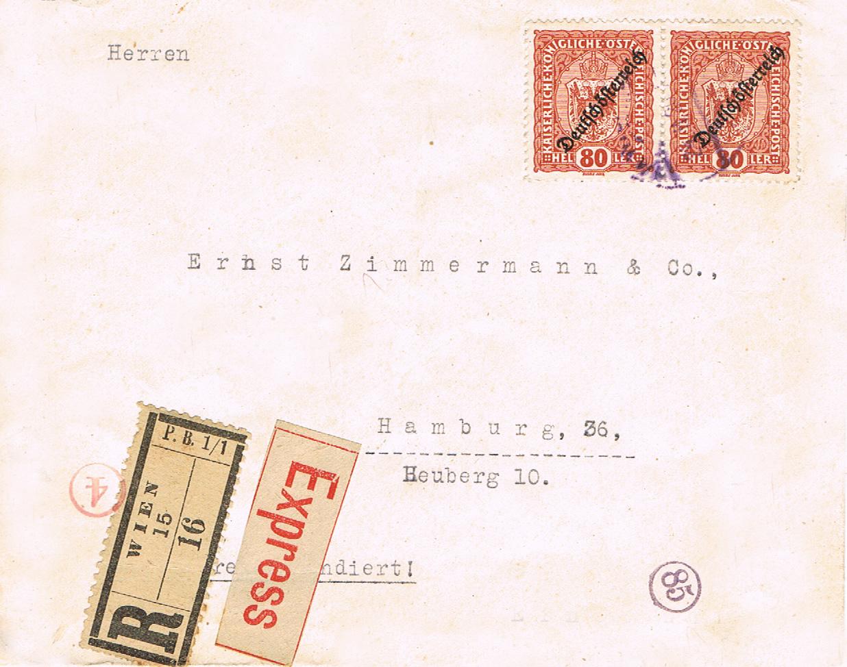 Inflation in Österreich - Belege - 1918 bis 1925 - Seite 16 If17