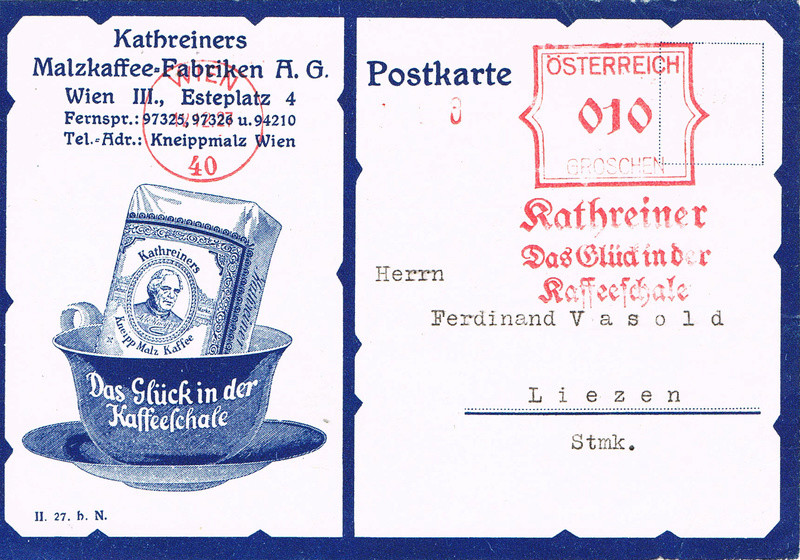 Werbeumschläge und -karten aus Österreich - Seite 6 Km11