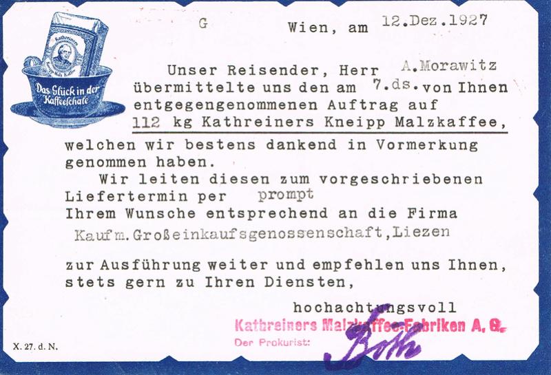 Werbeumschläge und -karten aus Österreich - Seite 6 Kmh10