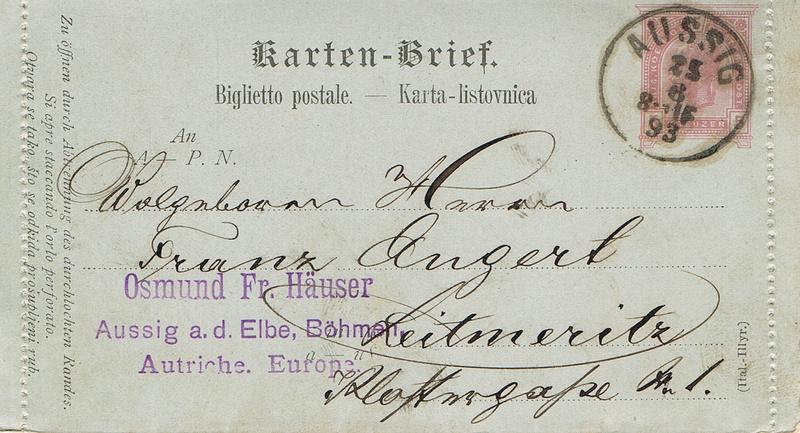 Kartenbrief (Sprachgebiet) Kr11