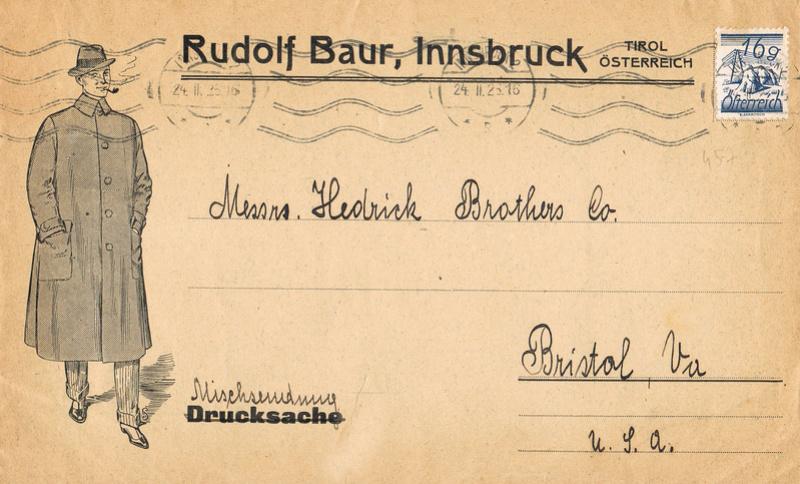 Werbeumschläge und -karten aus Österreich - Seite 6 Ma10