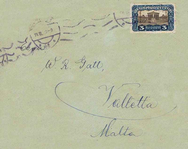 Inflation in Österreich - Belege - 1918 bis 1925 - Seite 15 Malta10
