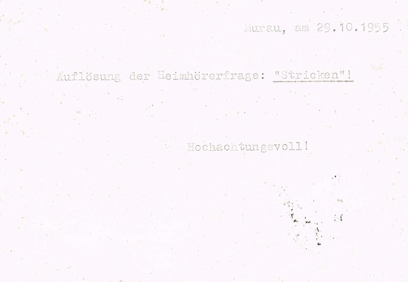Trachtenserien ANK 887 - 923 und 1052 - 1072 Belege - Seite 11 Mr10