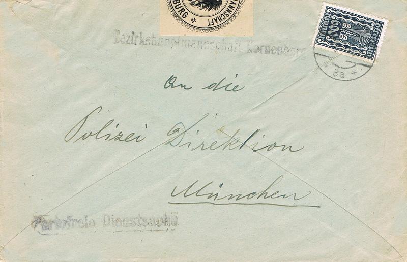 Inflation in Österreich - Belege - 1918 bis 1925 - Seite 15 Pf10