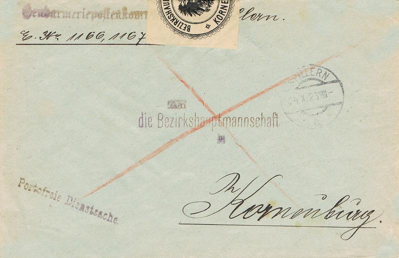 Inflation in Österreich - Belege - 1918 bis 1925 - Seite 15 Pfh10