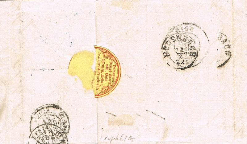 Freimarken-Ausgabe 1867 : Kopfbildnis Kaiser Franz Joseph I - Seite 19 Ph11