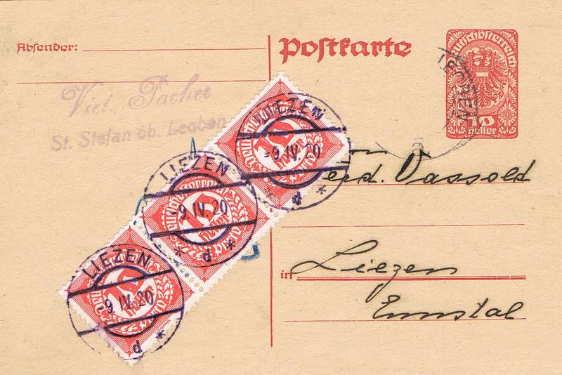 Inflation in Österreich - Belege - 1918 bis 1925 - Seite 16 Pk13