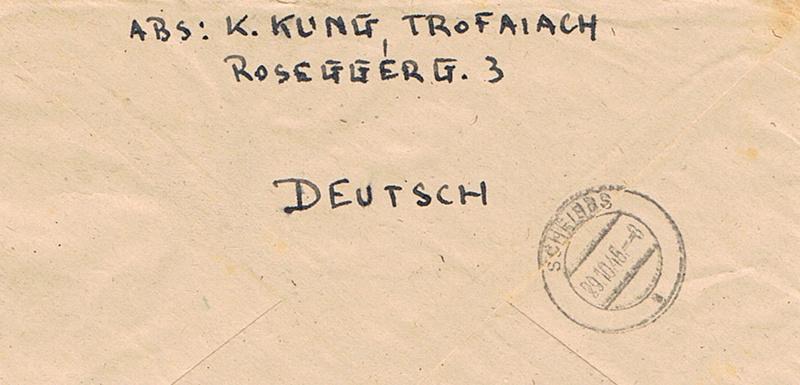 Posthornzeichnung  -  ANK 697-713  -  Belege - Seite 4 Poshh10