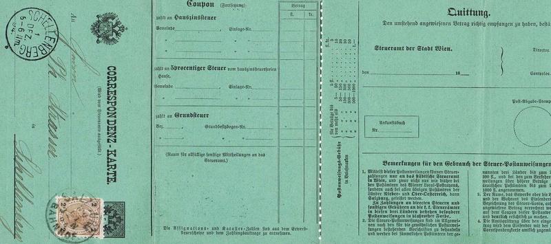 Steuerpostanweisung - Frage Psv_ko10