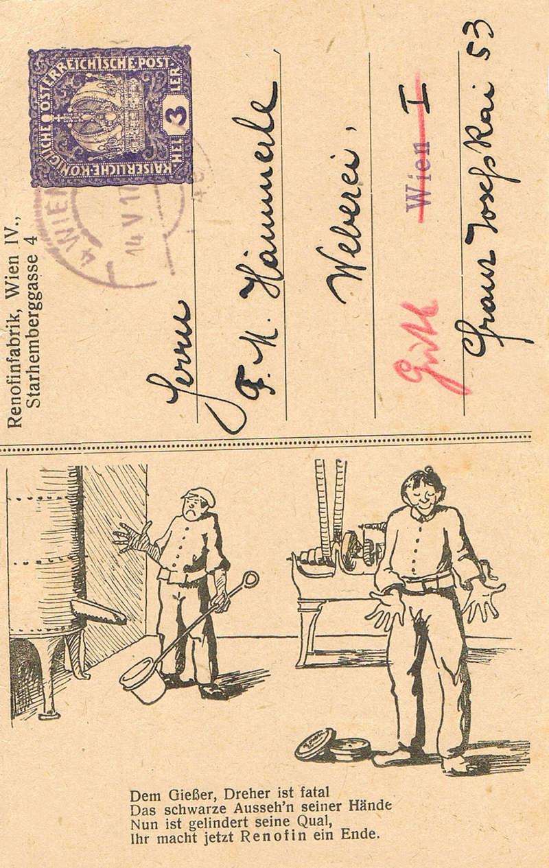 Private Ganzsachen-Postkarten Rf10