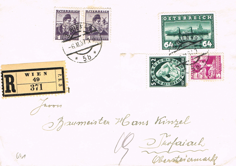Österreich 1925 - 1938 - Seite 8 Rk10