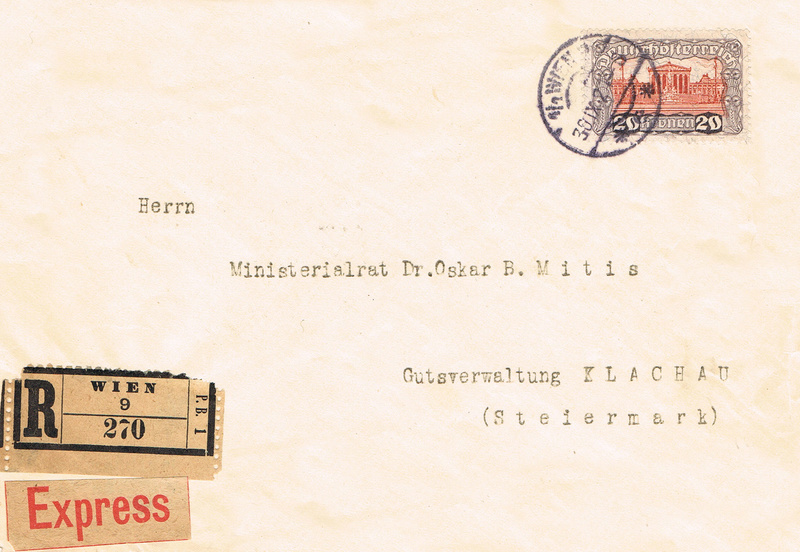 Inflation in Österreich - Belege - 1918 bis 1925 - Seite 14 Rk11