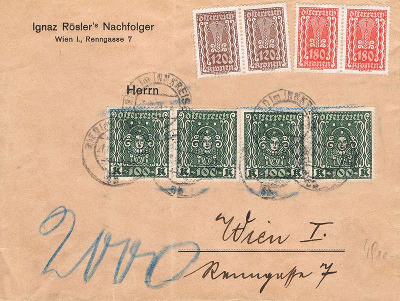 Inflation in Österreich - Belege - 1918 bis 1925 - Seite 14 Se10