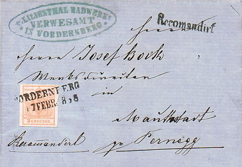 Die erste Österreichische Ausgabe 1850 - Seite 20 Vo10