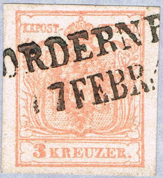 Die erste Österreichische Ausgabe 1850 - Seite 20 Vom10
