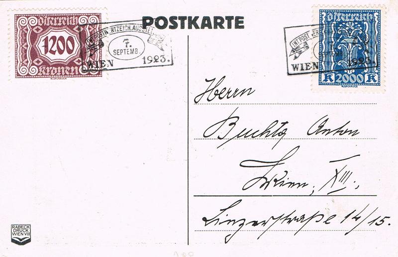 Inflation in Österreich - Belege - 1918 bis 1925 - Seite 15 W11