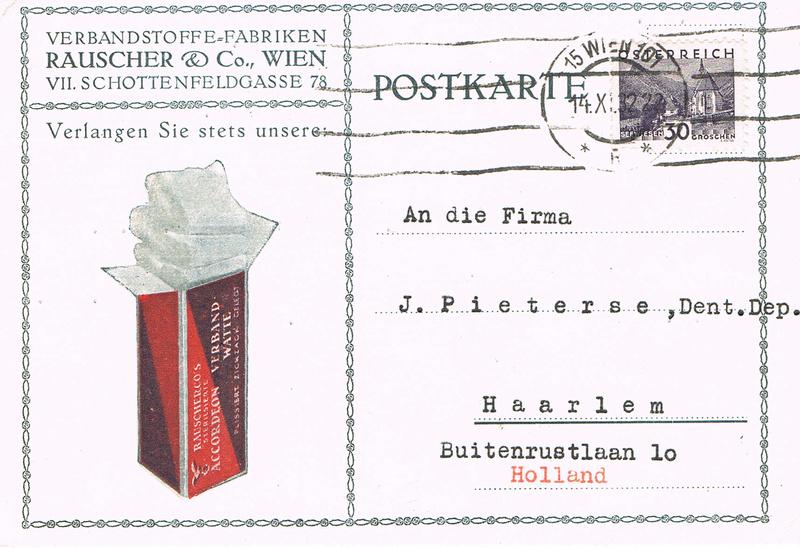 Werbeumschläge und -karten aus Österreich - Seite 5 We10