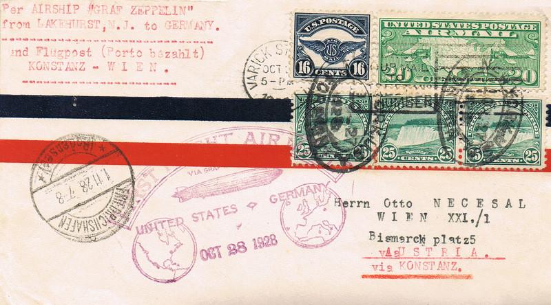 Zeppelinbrief Z11