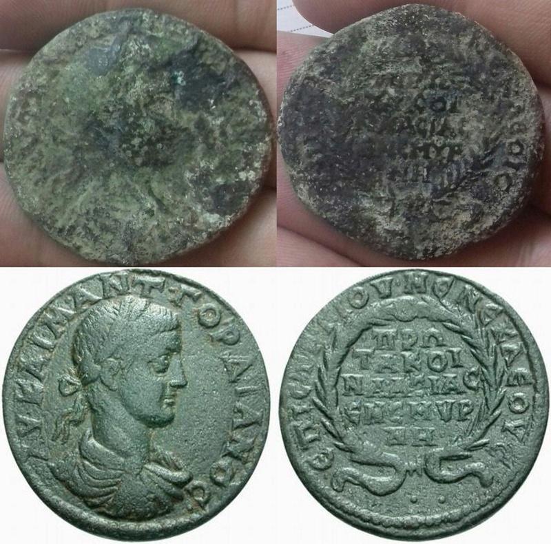 Médaillon romain Bb10