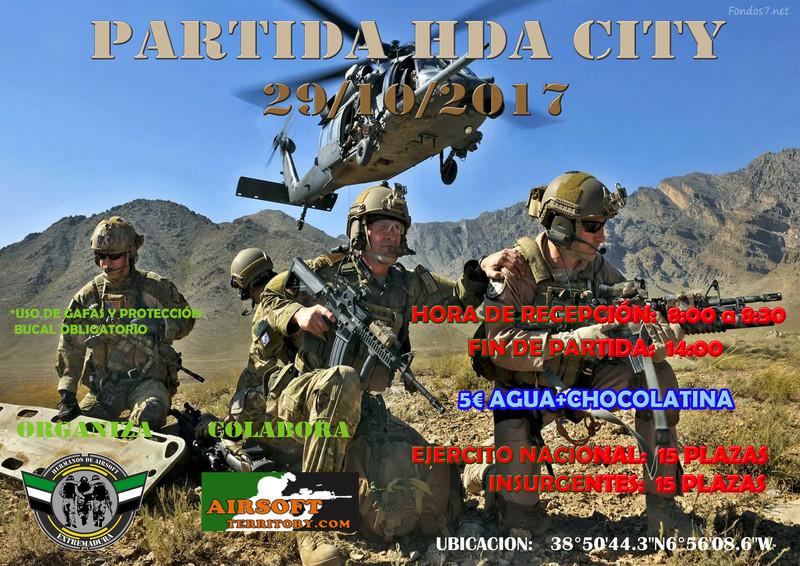 Partida HDA City 29/10/2017 Cartel10