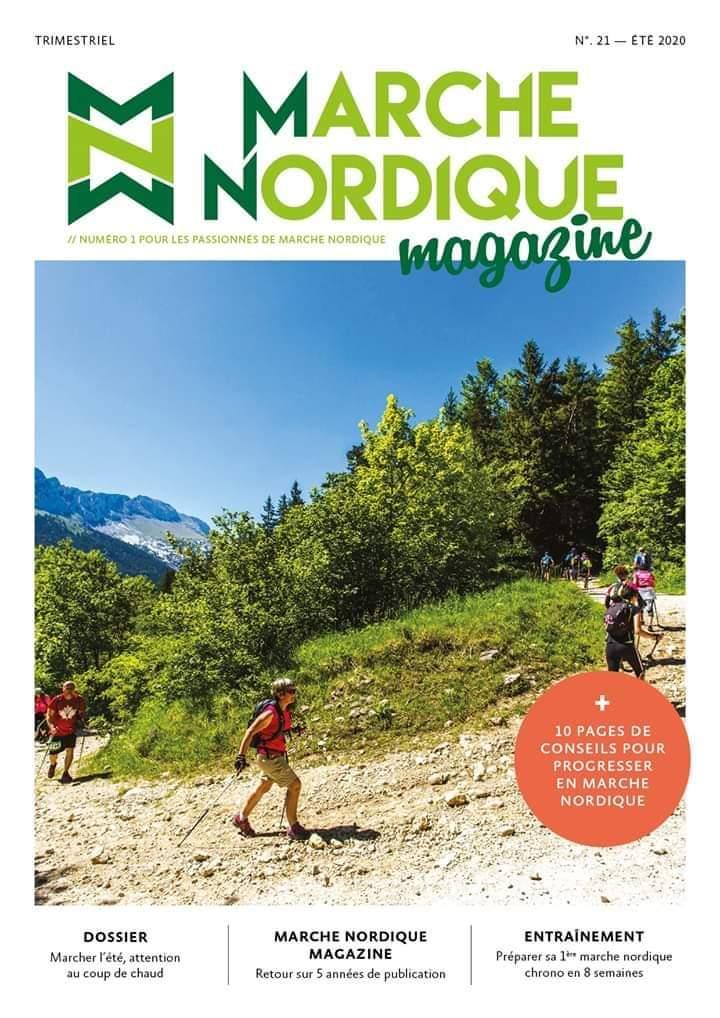 Marche Nordique Magazine - Le magazine référence du marcheur nordique 10141310