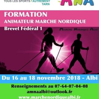 formation - Formation animateur marche nordique du 16 au 18 novembre 2018 Albi-Tarn Anialb10