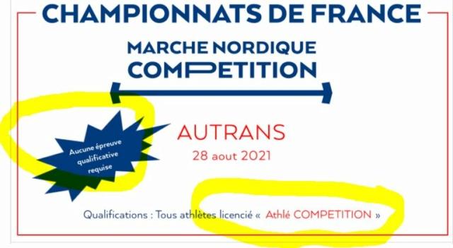 Championnat de france 2021 à Autrans Athle10