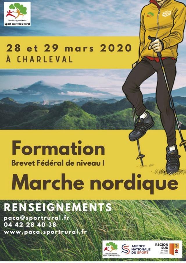 Brevet Fédéral de Niveau 1 en Marche Nordique (13) Bf1-mn10