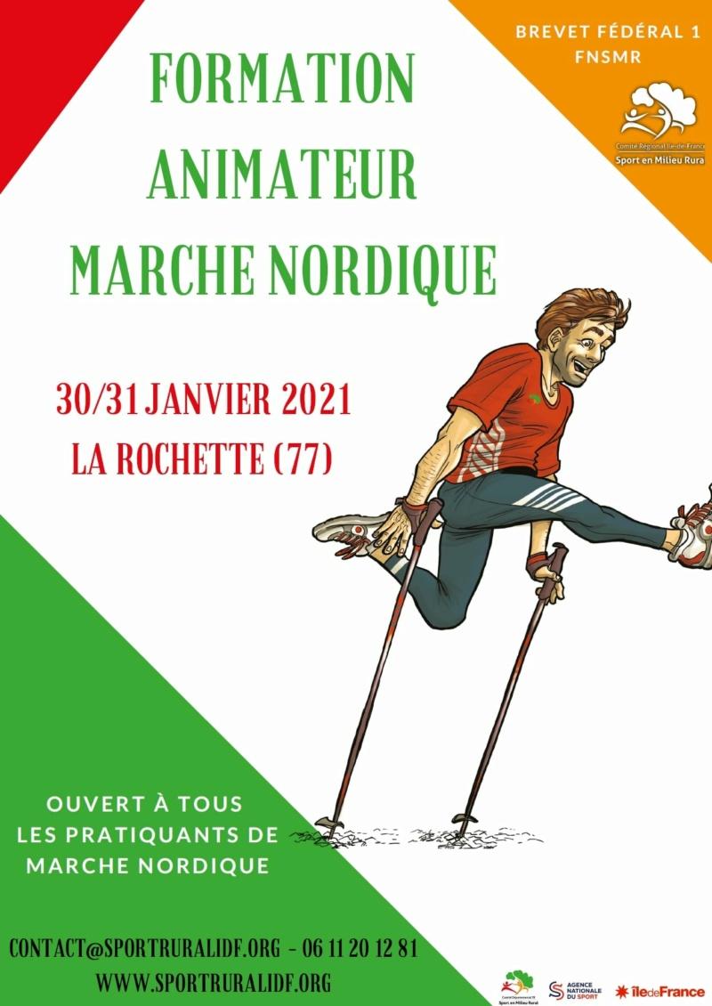 MARCHE - Brevet Fédéral de Niveau 1 en Marche Nordique (77) Cdsmr10