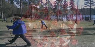 """Impact de la situation d'""""urgence sanitaire"""" sur la pratique de la marche nordique Covid211"""